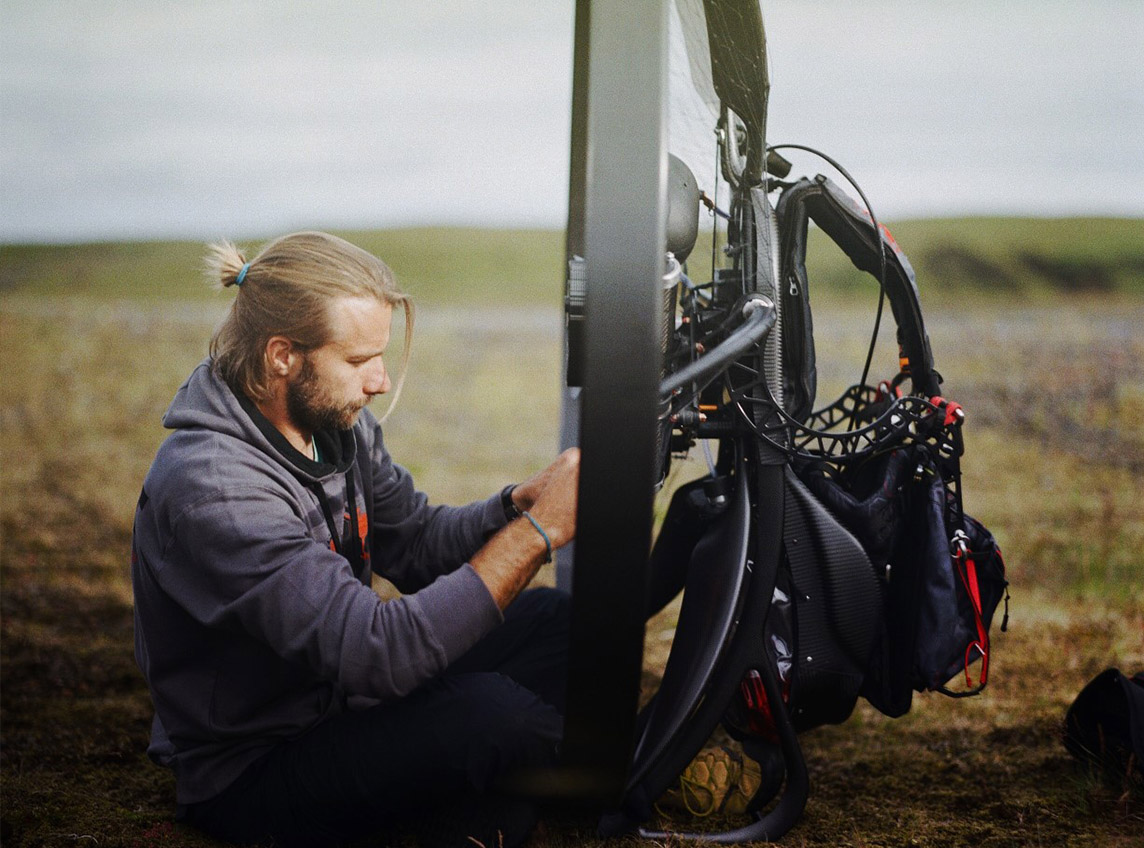 scout paramotor Miroslav Svec