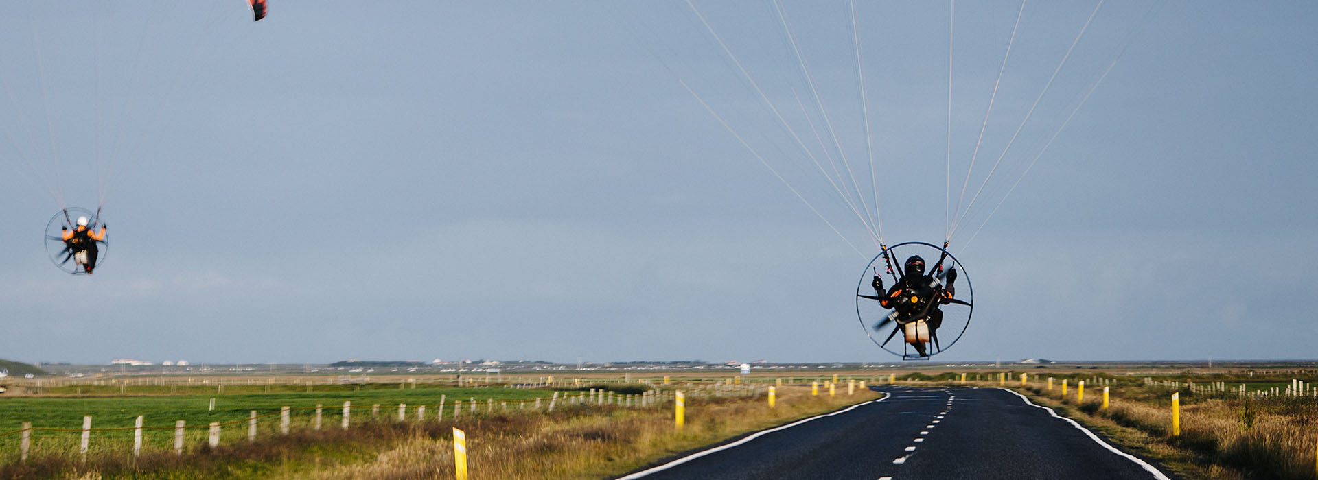 learn to fly paramotor