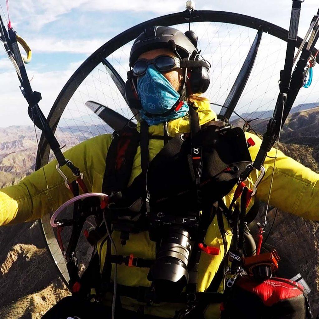 paramotor adventure flying