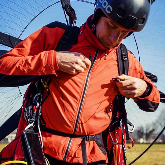paragliding pod harness_ 14