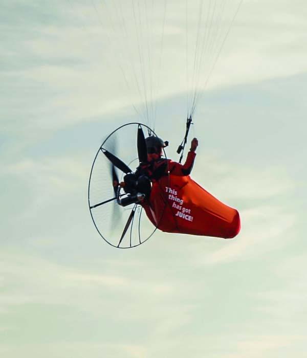 paragliding pod harness 4