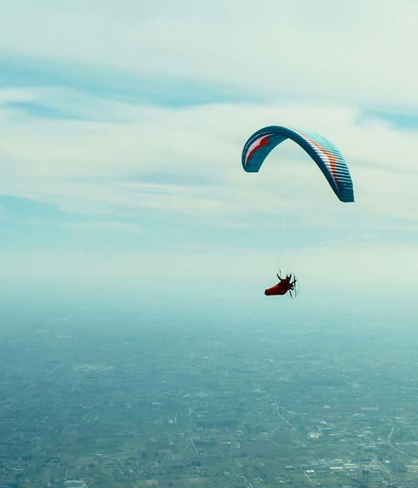 paragliding pod harness 1
