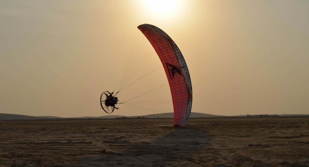 Scout paramotor acro