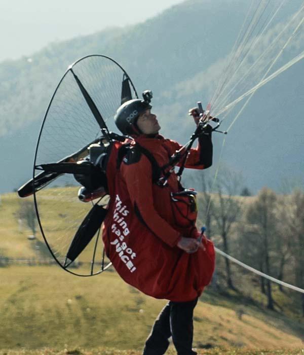 paragliding pod harness 5