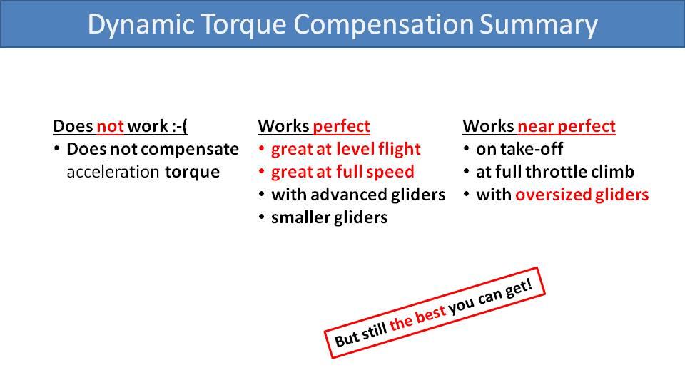 SCOUT Dynamic Torque Compensation 9