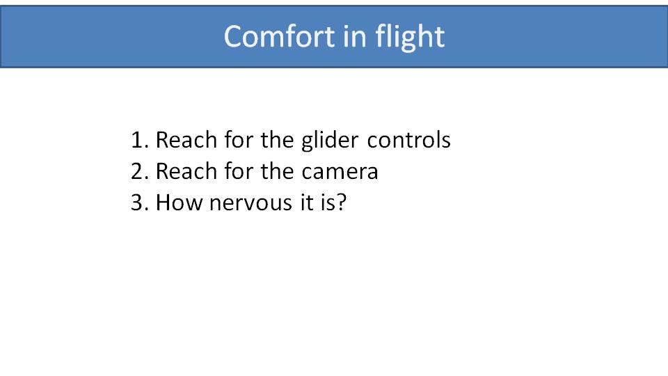 paramotor comfort in flight