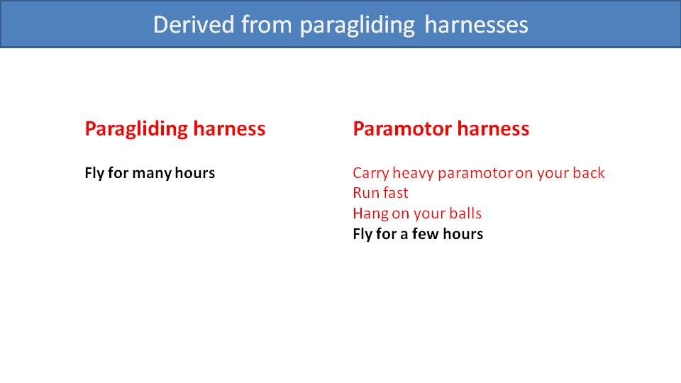 What Makes a Comfortable Paramotor Harness