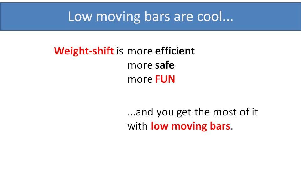 low paramotor bars