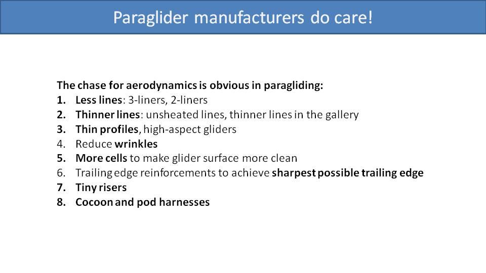 Paramotor Aerodynamics