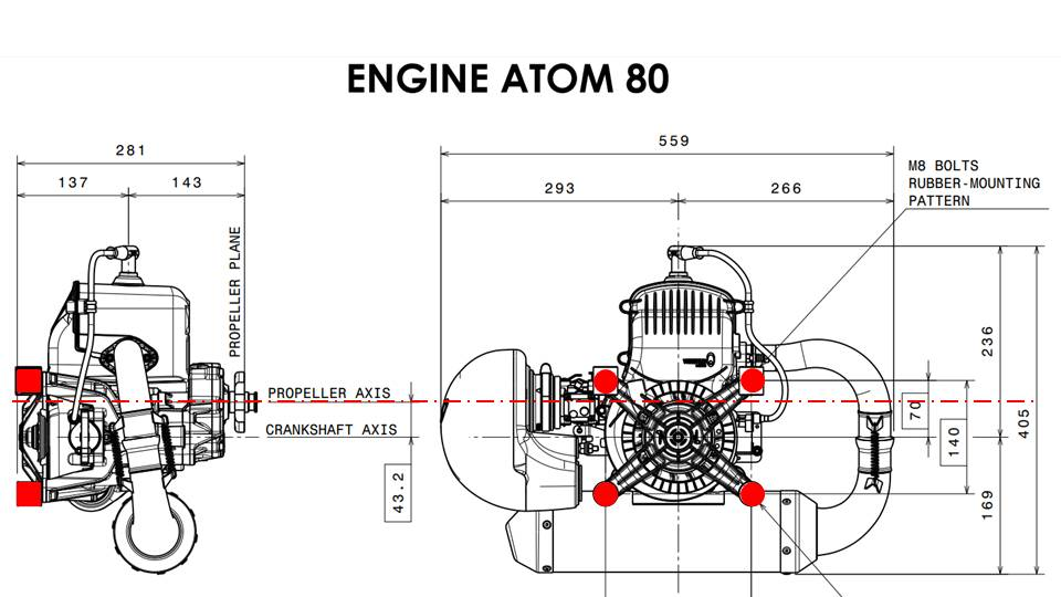 Ideal Position of Engine Mounts 2