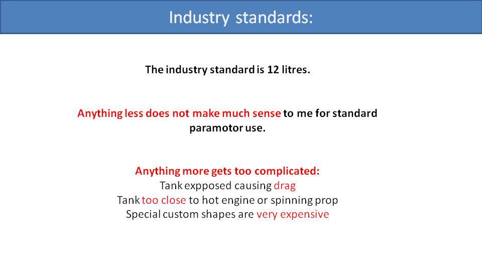 Paramotor Fuel Capacity 2