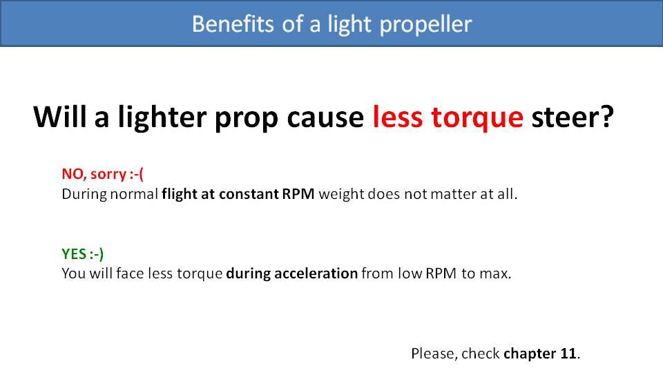 Paramotor Propeller Weight 2
