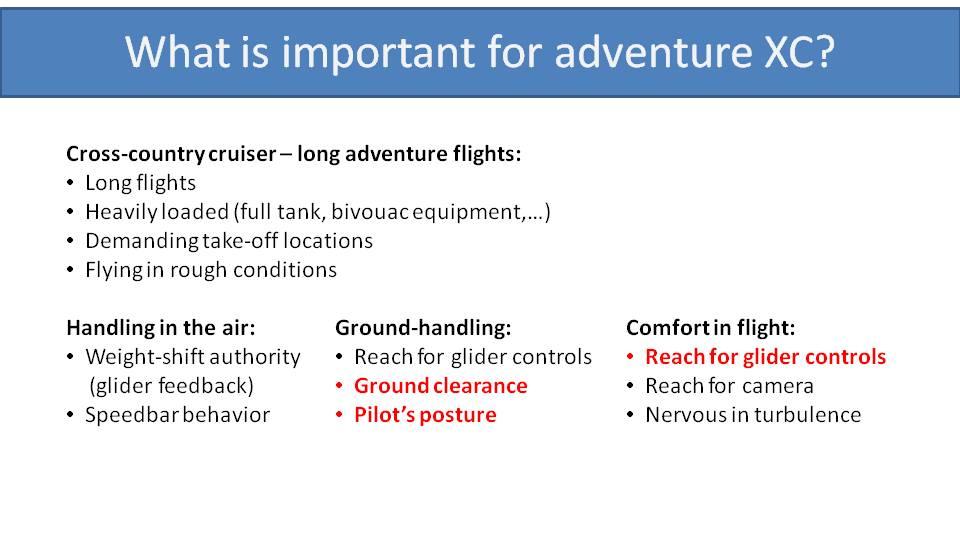 paramotor suspension for adventure