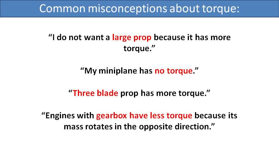 paramotor torque explained 2