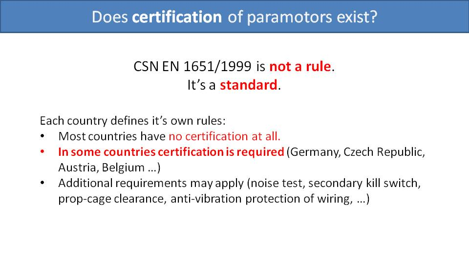 Load Testing and Certification of Paramotors 5