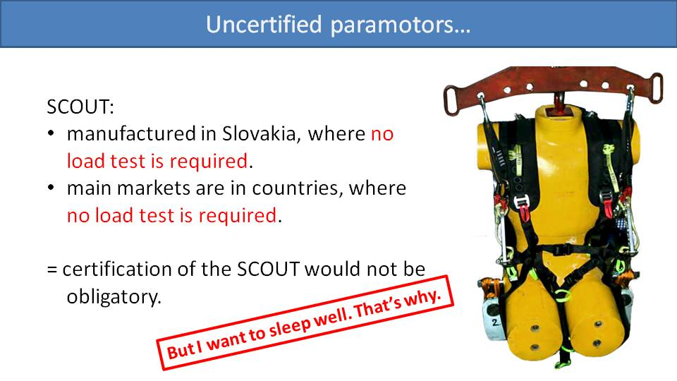 Load Testing and Certification of Paramotors 6